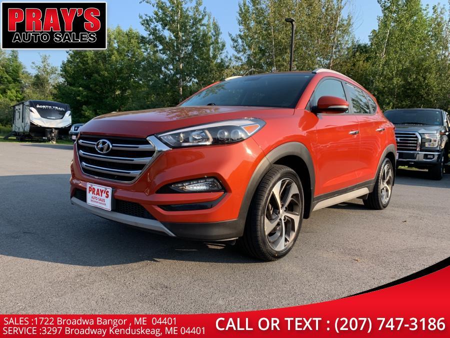 Used Hyundai Tucson Sport AWD 2017   Pray's Auto Sales . Bangor , Maine