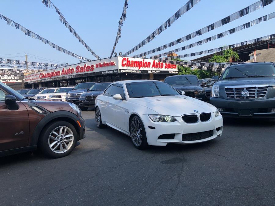 Used BMW M3 2dr Conv 2012 | Champion Auto Sales. Bronx, New York