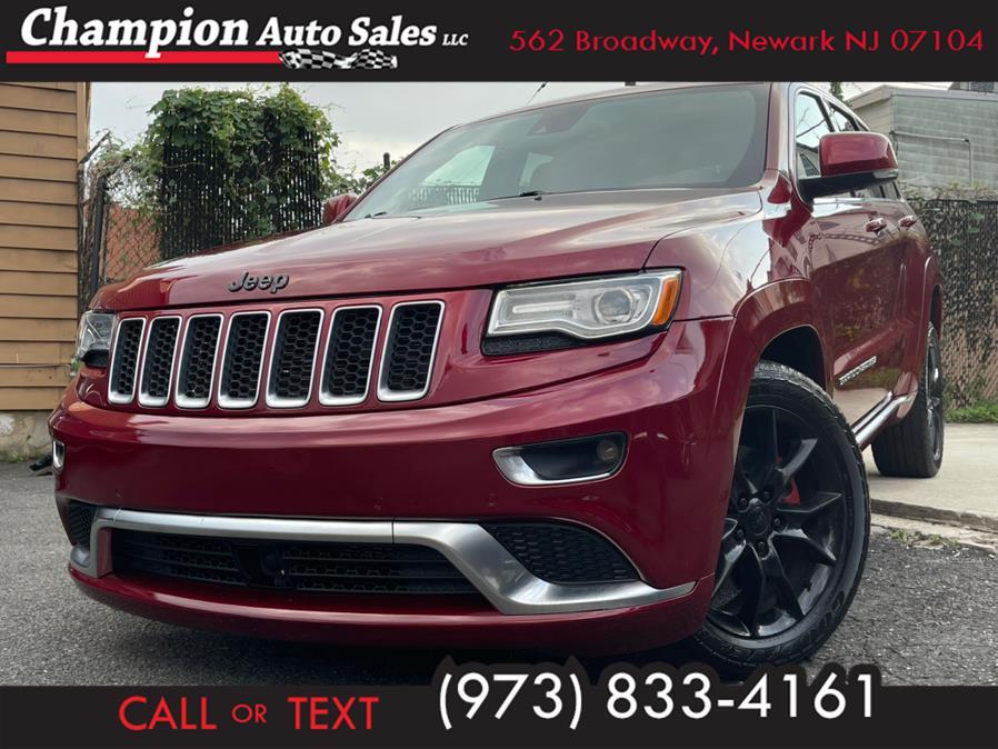 Used 2015 Jeep Grand Cherokee in Newark, New Jersey | Champion Auto Sales. Newark, New Jersey