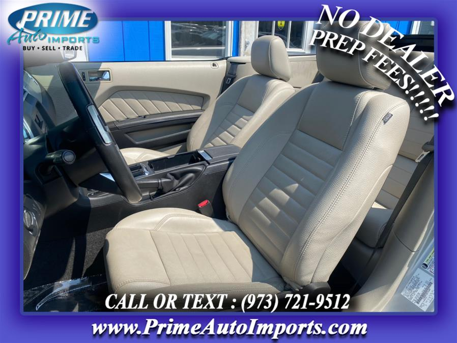 Used Ford Mustang 2dr Conv GT Premium 2011   Prime Auto Imports. Bloomingdale, New Jersey