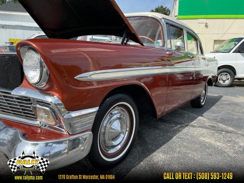 Used 1956 Chevrolet Belair in Worcester, Massachusetts | Rally Motor Sports. Worcester, Massachusetts
