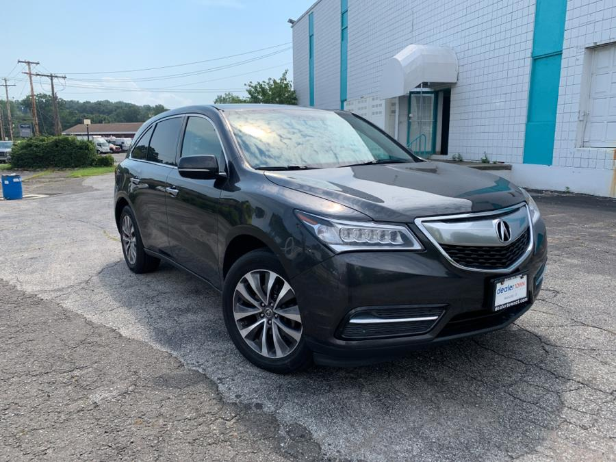 Used Acura MDX SH-AWD 4dr Tech Pkg 2015   Dealertown Auto Wholesalers. Milford, Connecticut