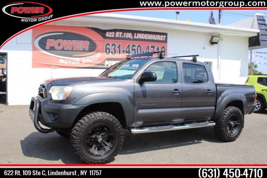 Used Toyota Tacoma 4WD Double Cab V6 AT (Natl) 2012 | Power Motor Group. Lindenhurst, New York