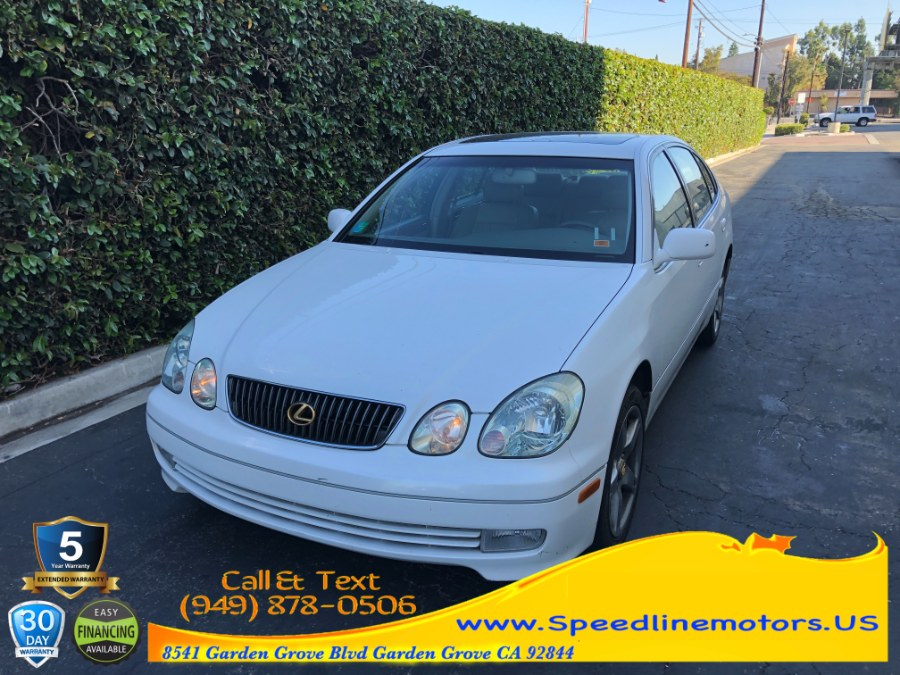 Used 2001 Lexus GS 430 in Garden Grove, California   Speedline Motors. Garden Grove, California