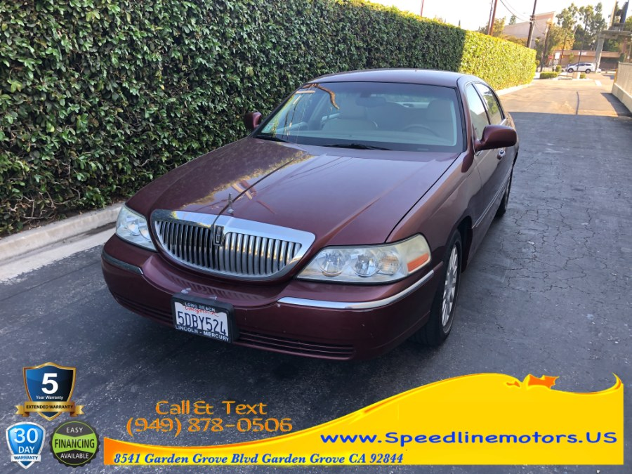 Used 2003 Lincoln Town Car in Garden Grove, California | Speedline Motors. Garden Grove, California