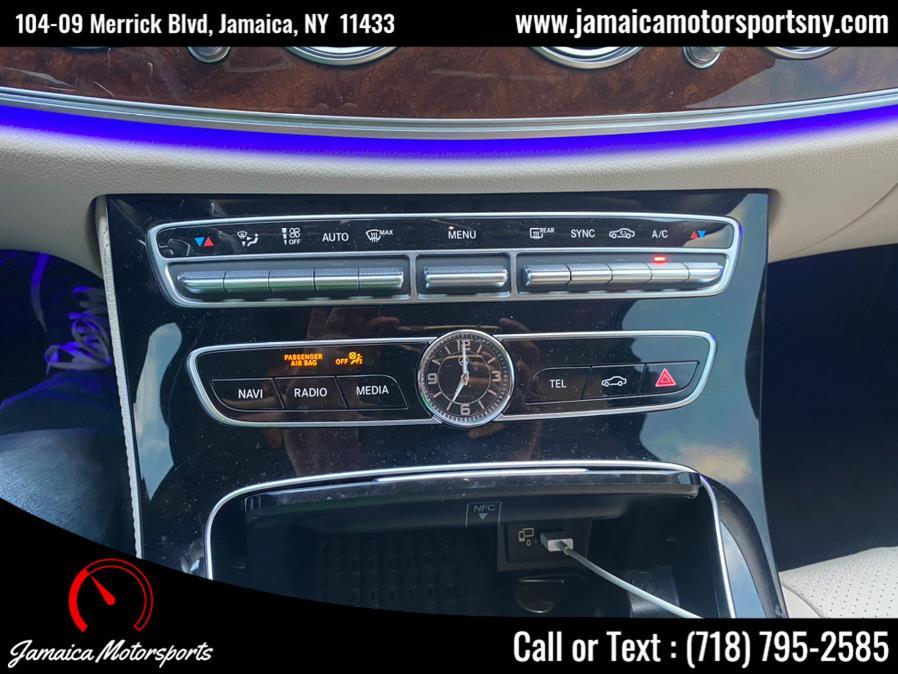 Used Mercedes-Benz E-Class E 300 Luxury 4MATIC Sedan 2017 | Jamaica Motor Sports . Jamaica, New York