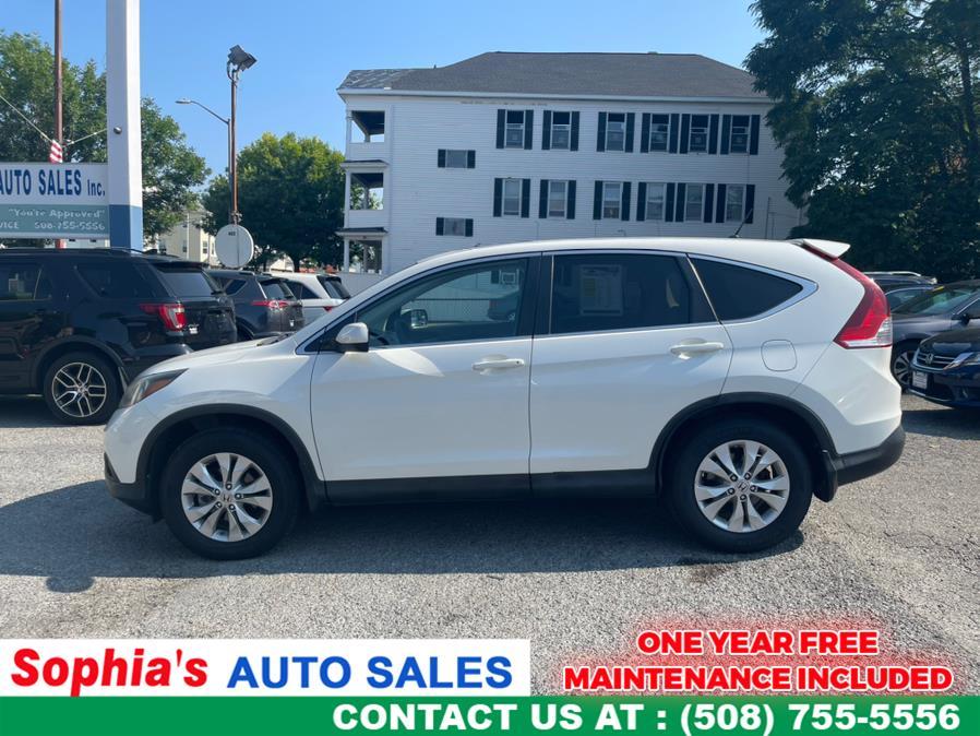 Used 2013 Honda CR-V in Worcester, Massachusetts   Sophia's Auto Sales Inc. Worcester, Massachusetts