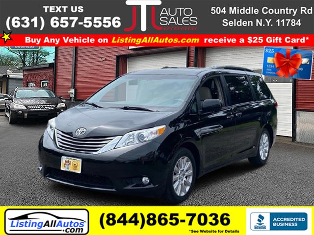 Used Toyota Sienna 5dr 7-Pass Van V6 XLE AWD (Natl) 2013 | www.ListingAllAutos.com. Patchogue, New York