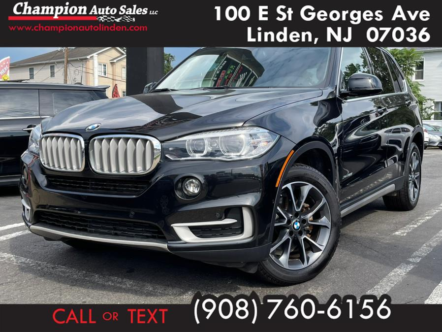 Used 2018 BMW X5 in Linden, New Jersey | Champion Auto Sales. Linden, New Jersey