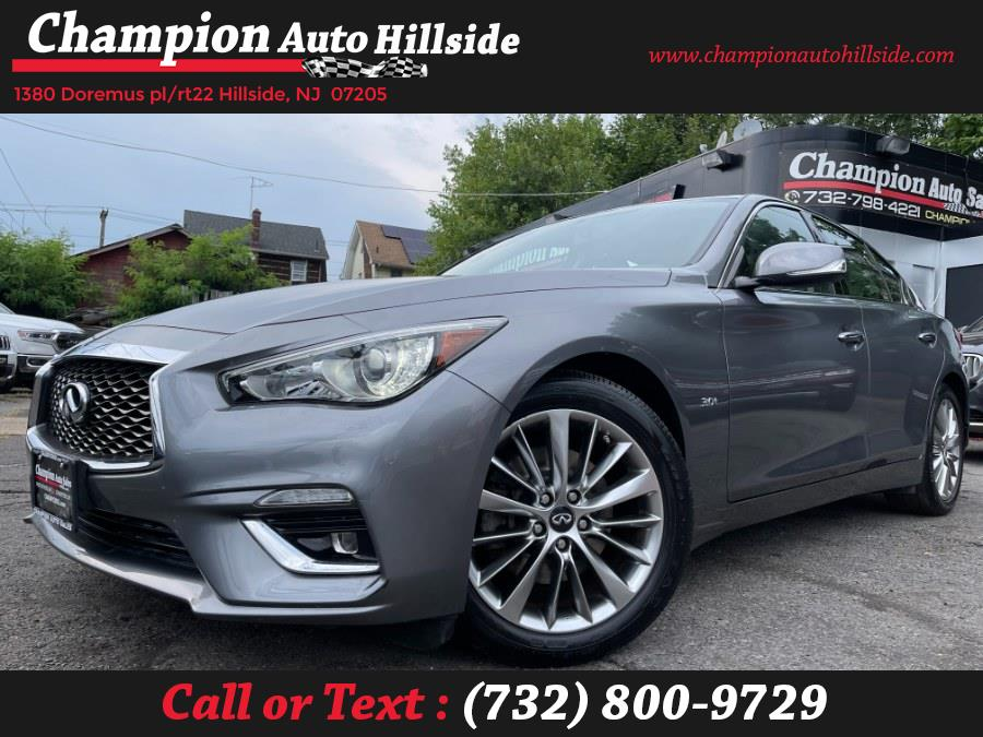 Used 2018 INFINITI Q50 in Hillside, New Jersey | Champion Auto Sales. Hillside, New Jersey