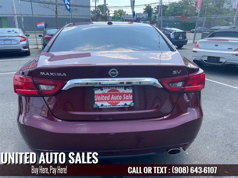 Used Nissan Maxima 3.5S 2017   United Auto Sale. Newark, New Jersey