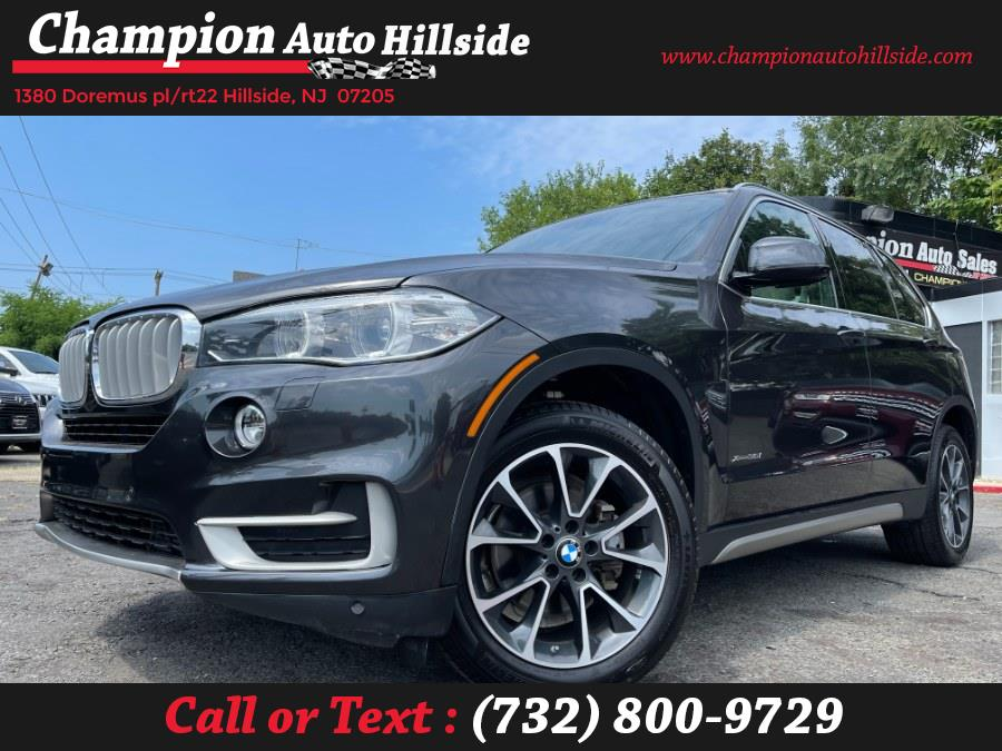 Used 2017 BMW X5 in Hillside, New Jersey | Champion Auto Hillside. Hillside, New Jersey