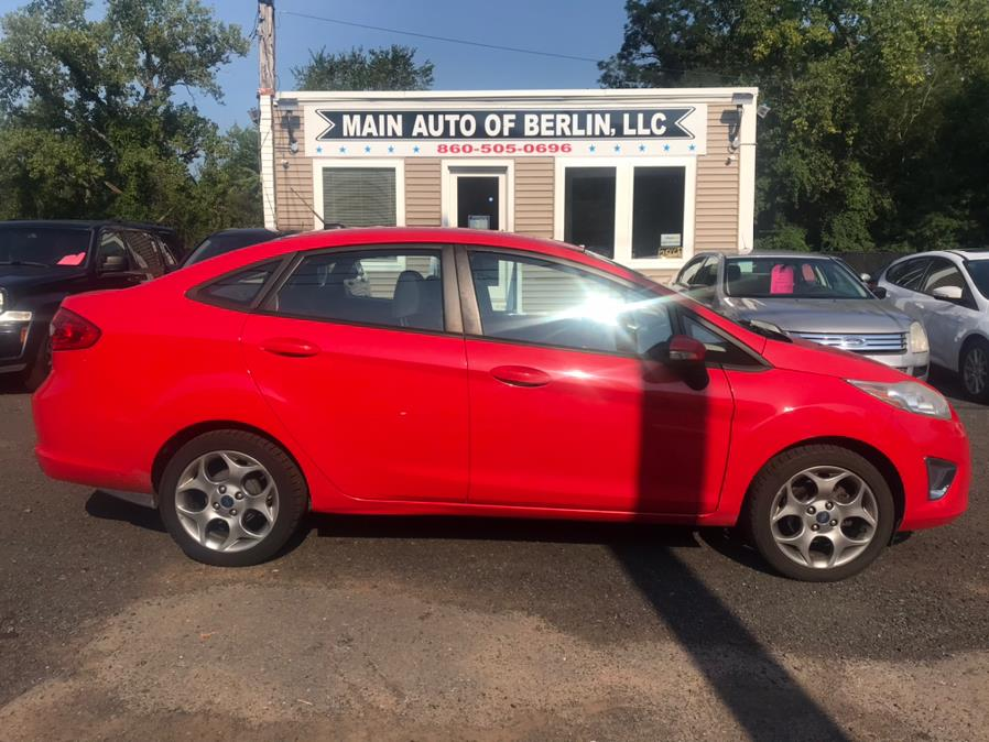 Used Ford Fiesta 4dr Sdn SEL 2012 | Main Auto of Berlin. Berlin, Connecticut