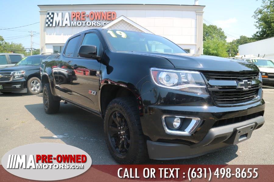 "Used Chevrolet Colorado 4WD Crew Cab 140.5"" Z71 2019 | M & A Motors. Huntington, New York"