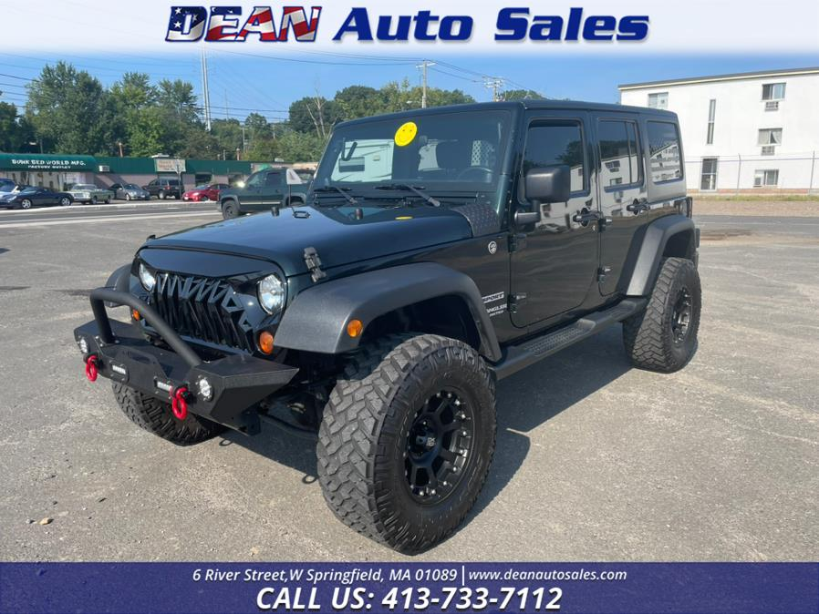 Used Jeep Wrangler Unlimited 4WD 4dr Sport 2012   Dean Auto Sales. W Springfield, Massachusetts