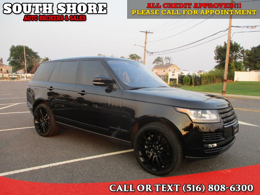 Used 2016 Land Rover Range Rover in Massapequa, New York | South Shore Auto Brokers & Sales. Massapequa, New York