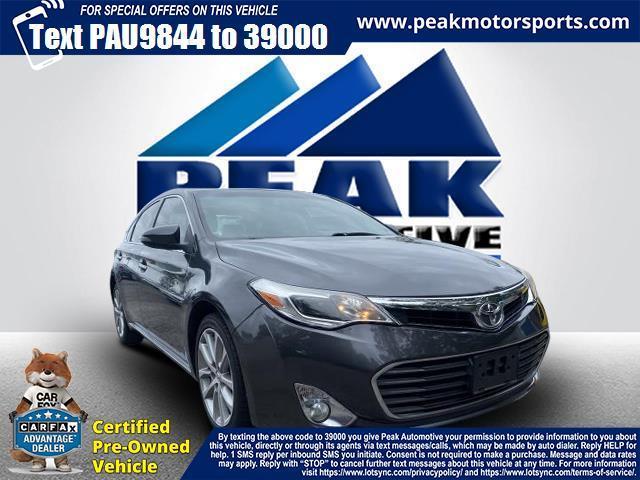 Used Toyota Avalon 4dr Sdn XLE (Natl) 2014   Peak Automotive Inc.. Bayshore, New York