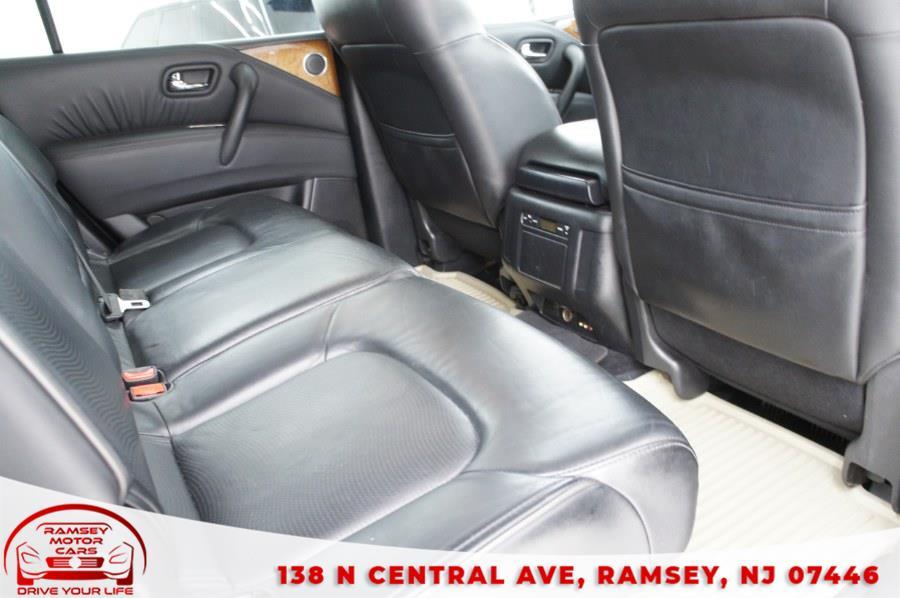 Used INFINITI QX56 4WD 4dr 8-passenger 2011   Ramsey Motor Cars Inc. Ramsey, New Jersey
