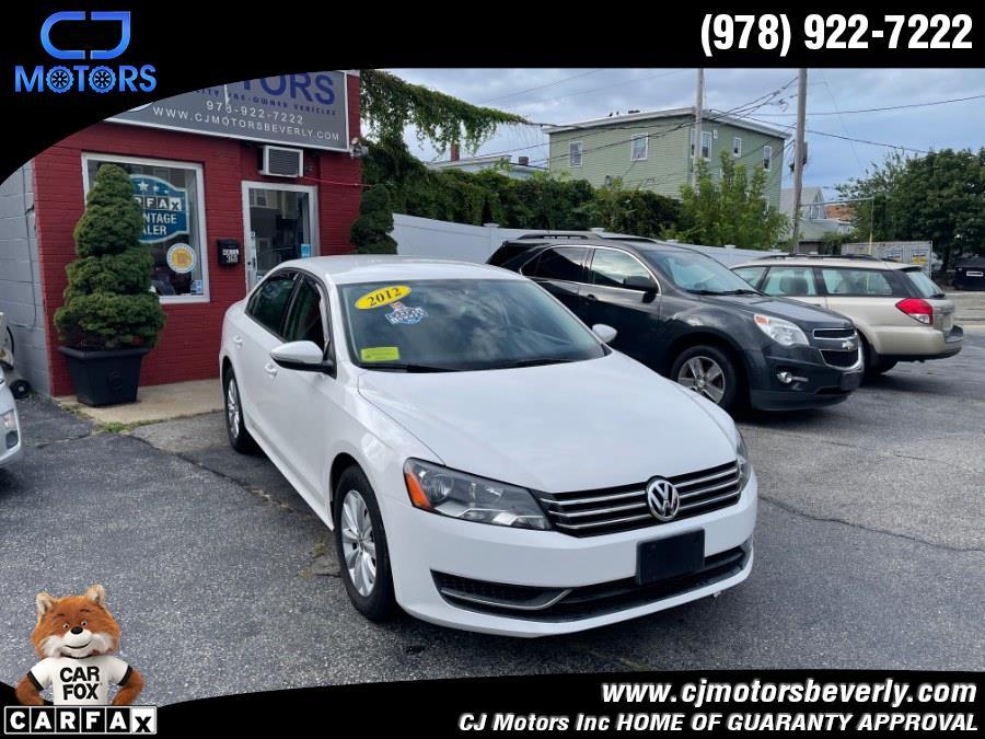 Used 2012 Volkswagen Passat in Beverly, Massachusetts | CJ Motors Inc. Beverly, Massachusetts