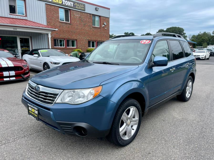 Used Subaru Forester (Natl) 4dr Man X w/Premium Pkg 2009 | Mike And Tony Auto Sales, Inc. South Windsor, Connecticut