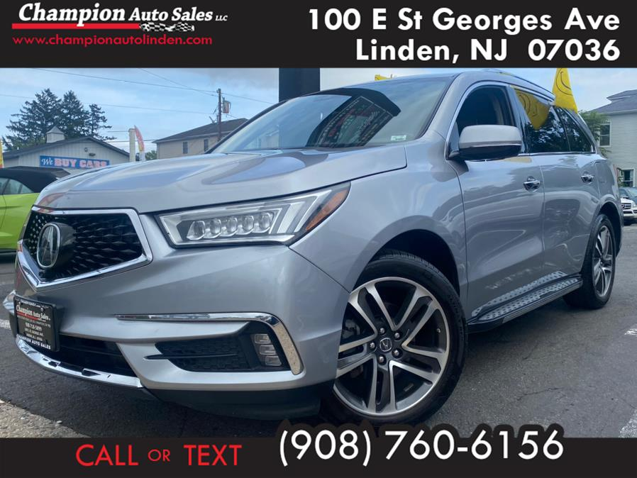 Used 2017 Acura MDX in Linden, New Jersey | Champion Used Auto Sales. Linden, New Jersey