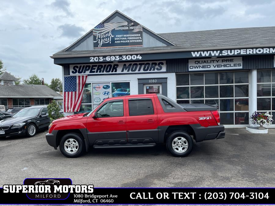 Used 2004 Chevrolet Avalanche LT Z71 in Milford, Connecticut   Superior Motors LLC. Milford, Connecticut