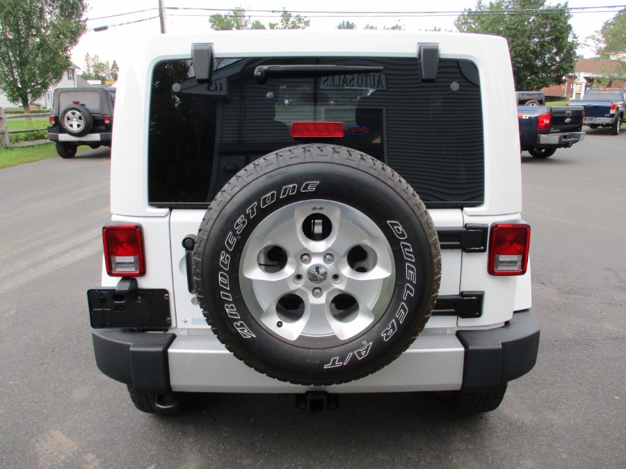 Used Jeep Wrangler Unlimited 4WD 4dr Sahara 2014 | Suffield Auto Sales. Suffield, Connecticut