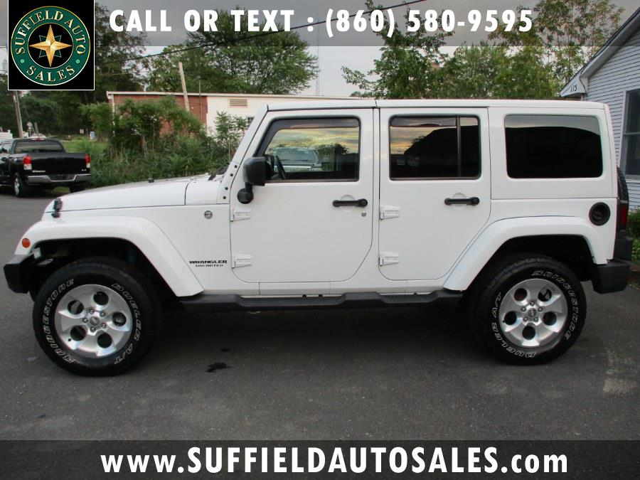 Used 2014 Jeep Wrangler Unlimited in Suffield, Connecticut | Suffield Auto Sales. Suffield, Connecticut