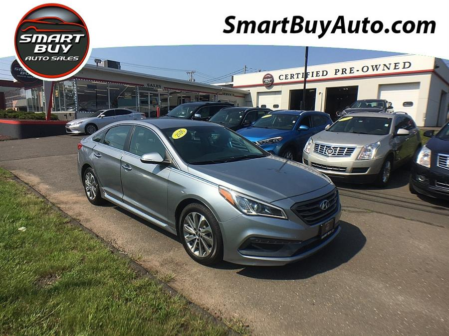 Used Hyundai Sonata 4dr Sdn 2.4L Limited PZEV 2016   Smart Buy Auto Sales, LLC. Wallingford, Connecticut