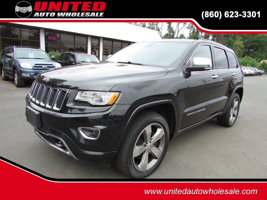 Used Jeep Grand Cherokee 4WD 4dr Overland 2015   United Auto Sales of E Windsor, Inc. East Windsor, Connecticut
