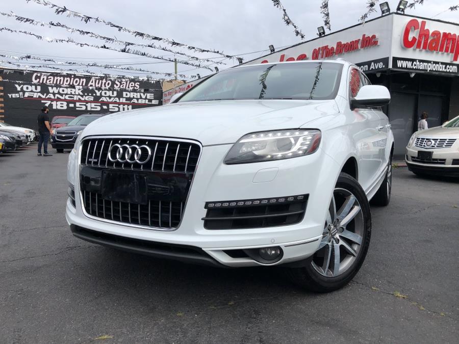 Used 2014 Audi Q7 in Bronx, New York | Champion Auto Sales. Bronx, New York