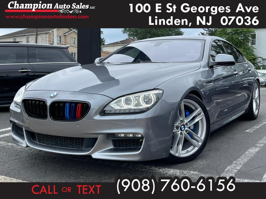 Used 2015 BMW 6 Series in Linden, New Jersey | Champion Auto Sales. Linden, New Jersey