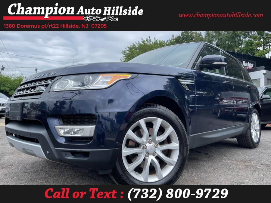 Used 2015 Land Rover Range Rover Sport in Hillside, New Jersey   Champion Auto Hillside. Hillside, New Jersey