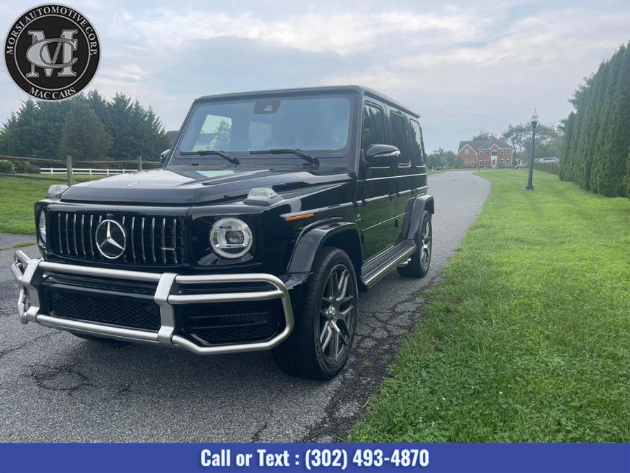 Used Mercedes-Benz G-Class AMG G 63 4MATIC SUV 2021   Morsi Automotive Corp. New Castle, Delaware