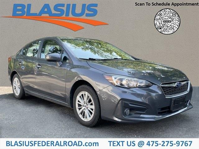 Used Subaru Impreza 2.0i Premium 2018   Blasius Federal Road. Brookfield, Connecticut