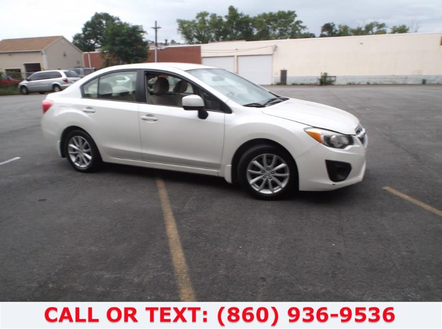 Used Subaru Impreza Sedan 4dr Auto 2.0i Premium 2012   Lee Motors Sales Inc. Hartford, Connecticut