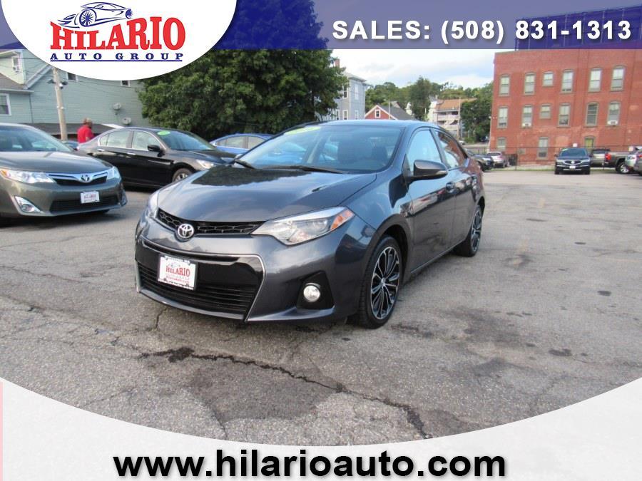 Used Toyota Corolla S 2016   Hilario's Auto Sales Inc.. Worcester, Massachusetts