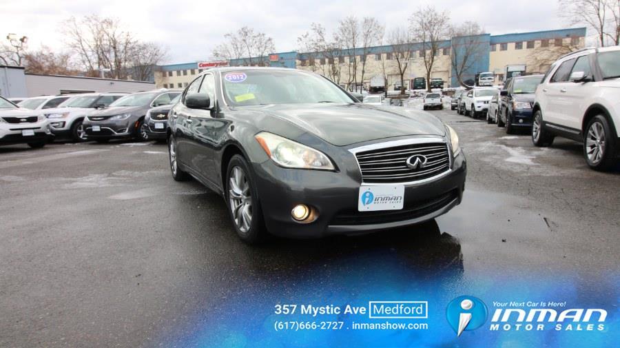 Used Infiniti M37 4dr Sdn RWD 2012 | Inman Motors Sales. Medford, Massachusetts