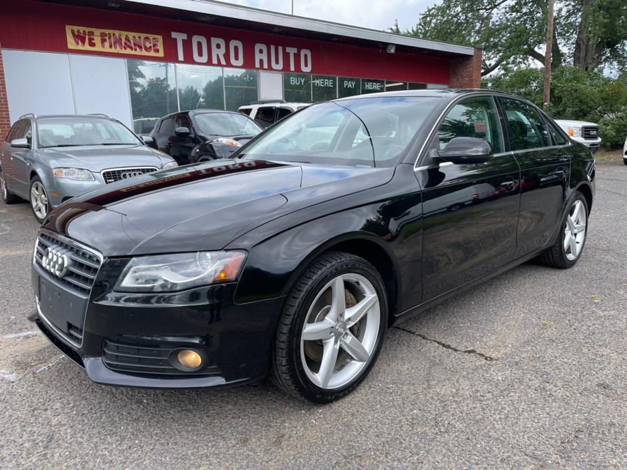 Used Audi A4 Quattro 2.0T Premium  Plus 6 Speed Manual 2011 | Toro Auto. East Windsor, Connecticut