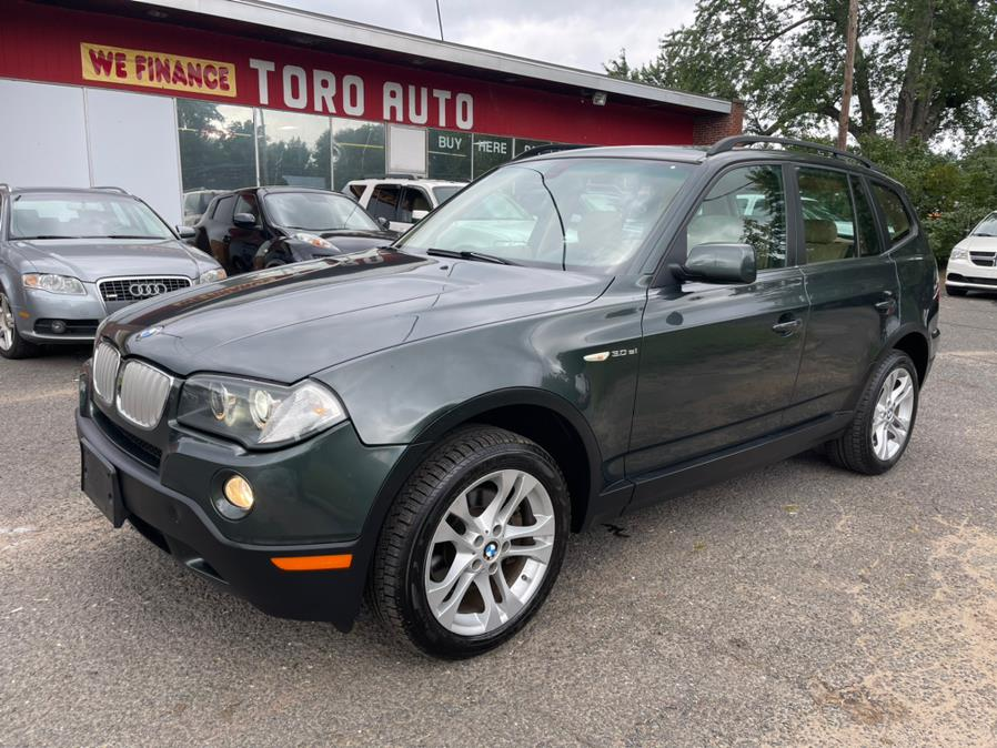 Used BMW X3 AWD 4dr 3.0si  Panoramic Roof Leather 2007 | Toro Auto. East Windsor, Connecticut