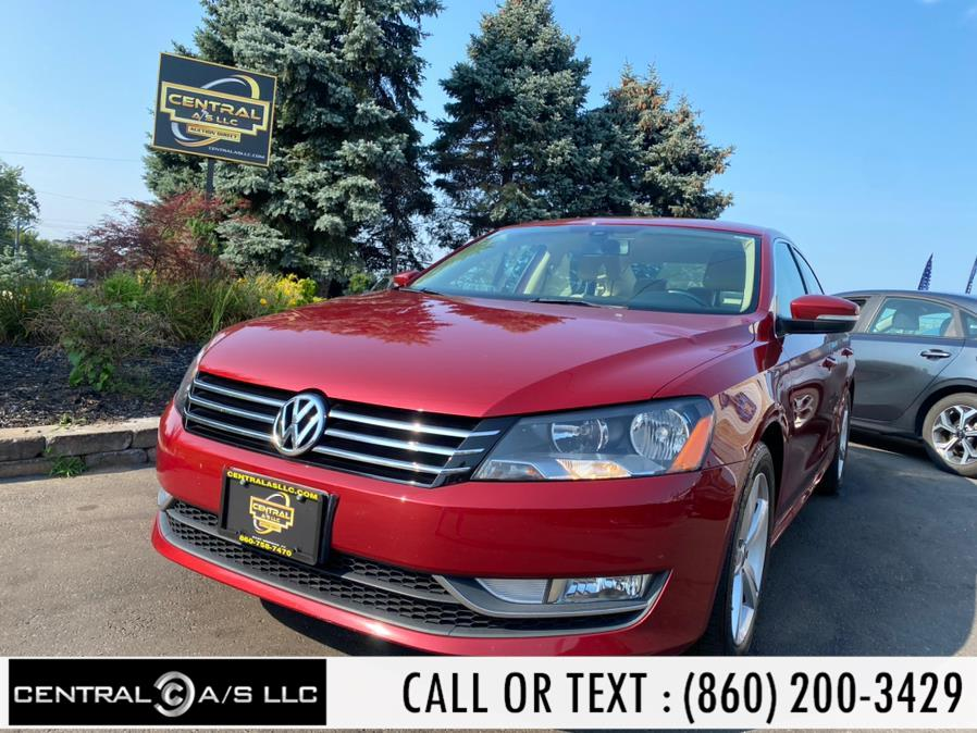 Used Volkswagen Passat 4dr Sdn 1.8T Auto Wolfsburg Ed PZEV *Ltd Avail* 2015   Central A/S LLC. East Windsor, Connecticut