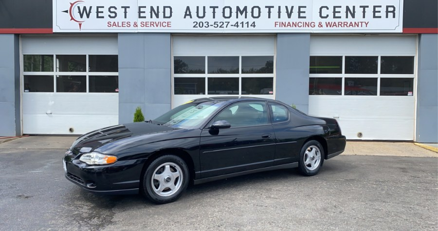 Used 2003 Chevrolet Monte Carlo in Waterbury, Connecticut | West End Automotive Center. Waterbury, Connecticut