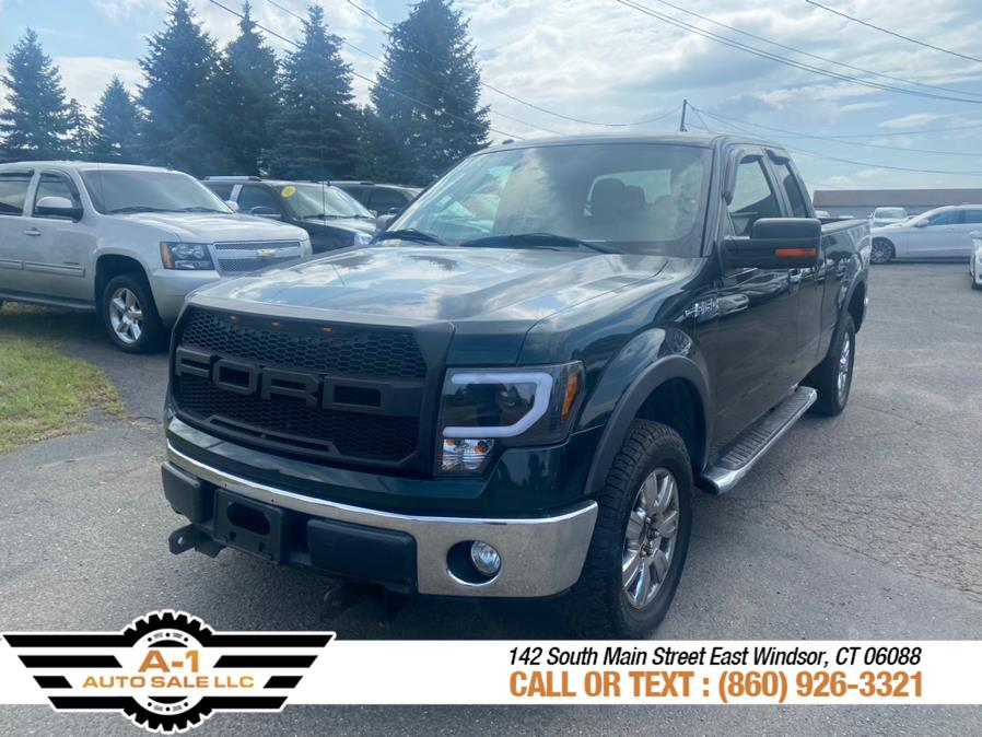 """Used Ford F-150 4WD SuperCab 145"""" XLT 2012 