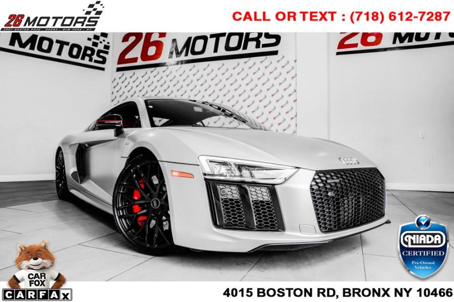 Used Audi R8 Coupe V10 RWD 2018   26 Motors Corp. Bronx, New York