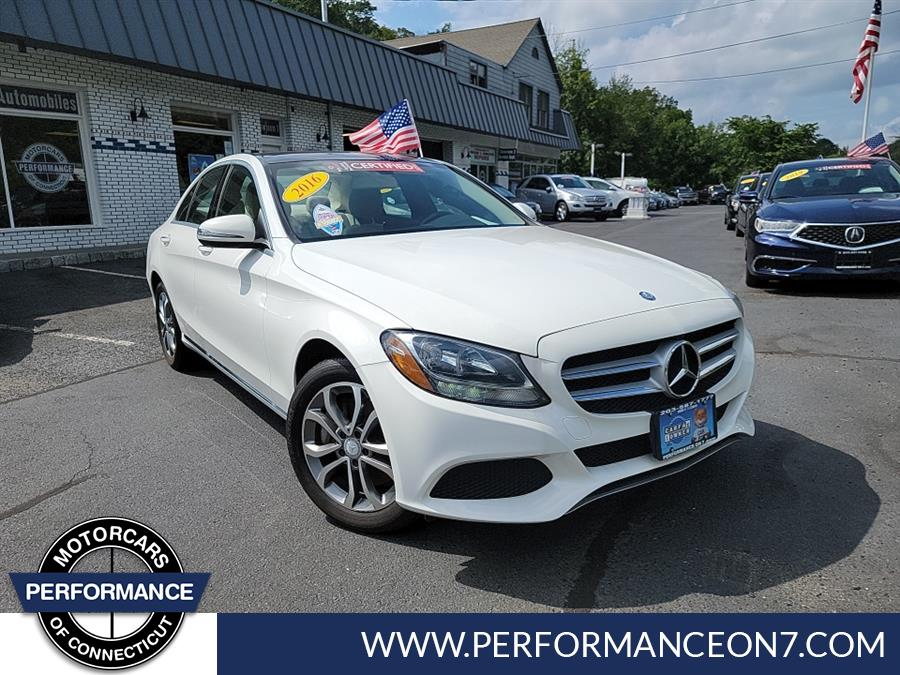 Used 2016 Mercedes-Benz C-Class in Wilton, Connecticut   Performance Motor Cars Of Connecticut LLC. Wilton, Connecticut