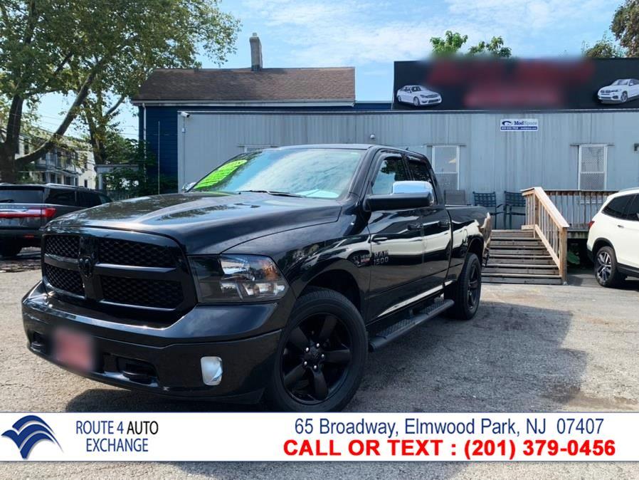 "Used Ram 1500 Big Horn 4x4 Quad Cab 6''4"" Box 2018 | Route 4 Auto Exchange. Elmwood Park, New Jersey"