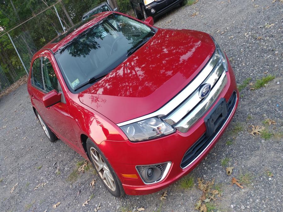 Used Ford Fusion 4dr Sdn SEL AWD 2010 | Matts Auto Mall LLC. Chicopee, Massachusetts