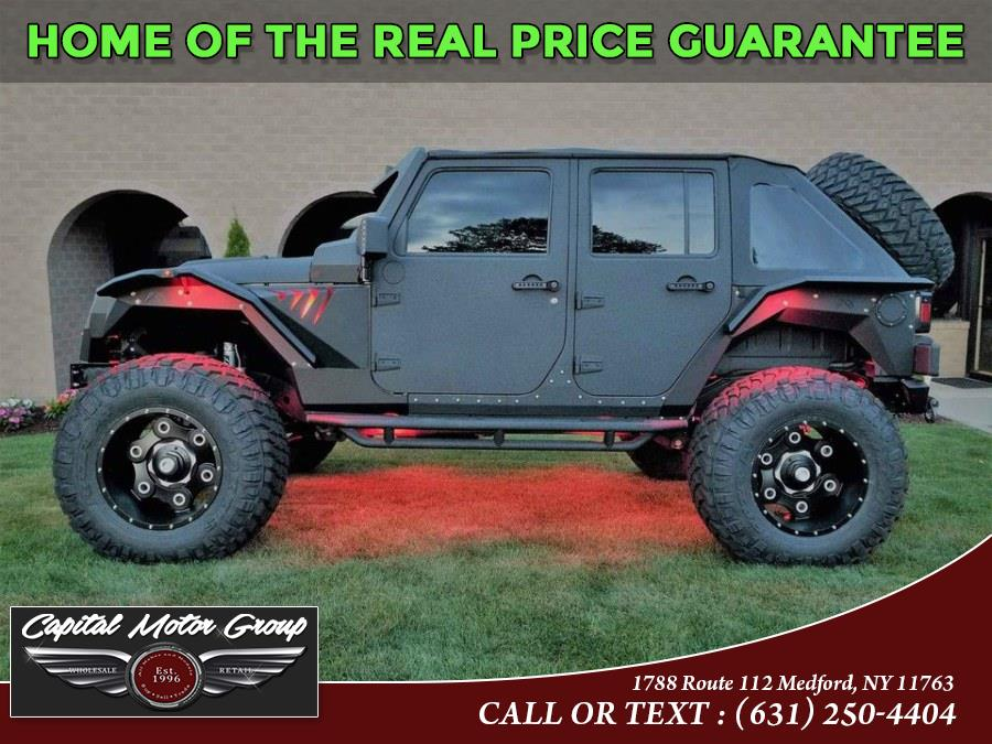 Used Jeep Wrangler Unlimited 4WD 4dr Rubicon 2015 | Capital Motor Group Inc. Medford, New York