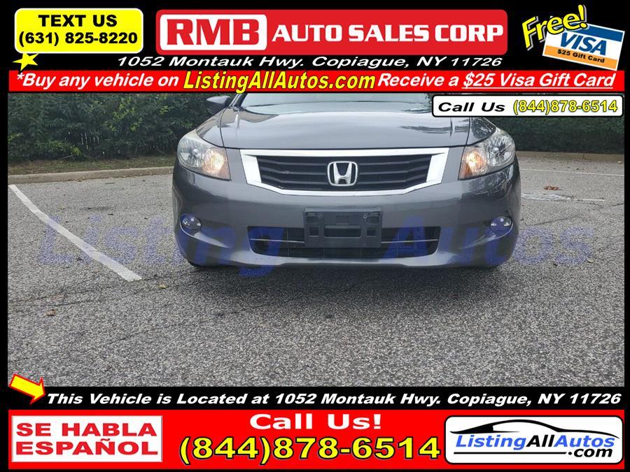 Used Honda Accord EX L V6 4dr Sedan 2010 | www.ListingAllAutos.com. Patchogue, New York