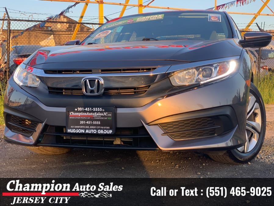Used 2018 Honda Civic Sedan in Jersey City, New Jersey | Champion Auto Sales. Jersey City, New Jersey